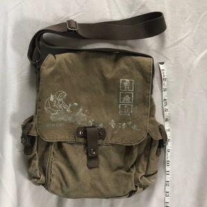 Diesel canvas bag